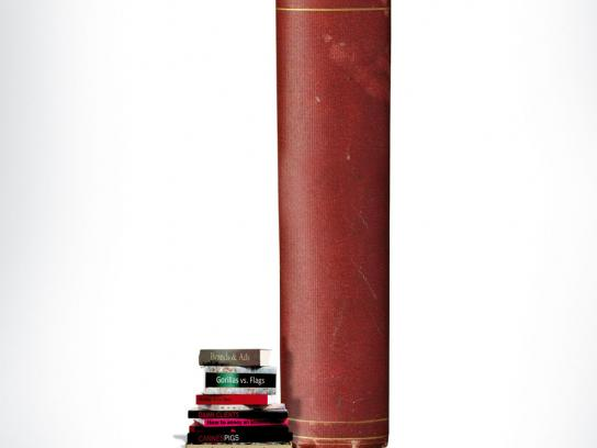 Ads of the World Print Ad -  Book