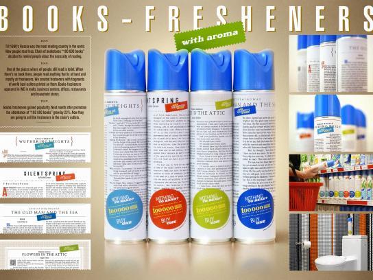 100 000 Books Direct Ad -  Books-Fresheners