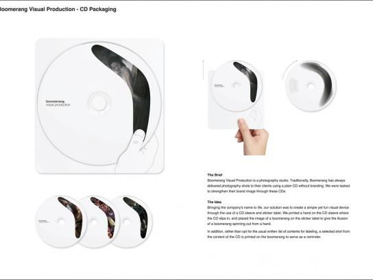 Boomerang Visual Production Direct Ad -  CDs