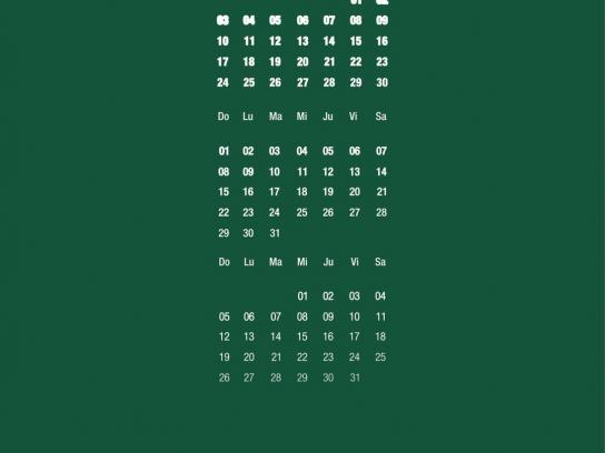 Bootcamp Print Ad -  Calendar