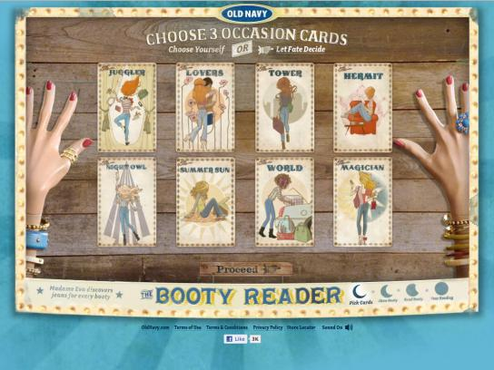 Old Navy Digital Ad -  Booty Reader