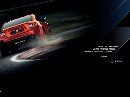 Toyota Print Ad -  Born