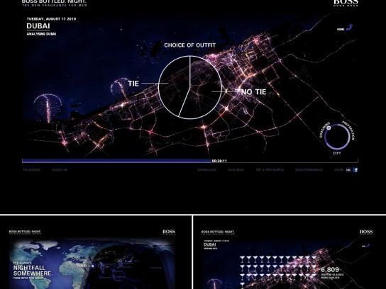 Hugo Boss Digital Ad -  It's Always Nightfall Somewhere