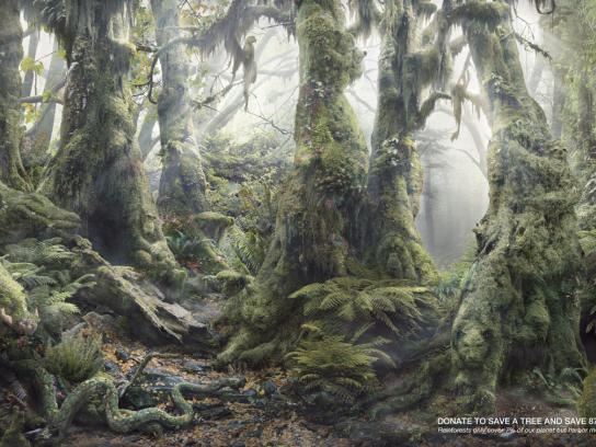 WWF Print Ad -  Botanimal