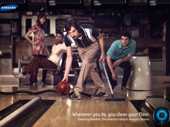 Samsung Print Ad -  Bowling
