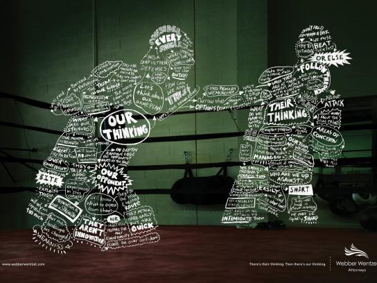 Webber Wentzel Print Ad -  Boxer