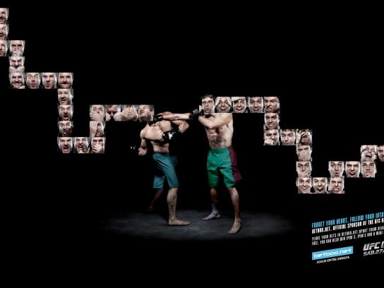 Betboo.net Print Ad -  UFC RIO 134 Boxing