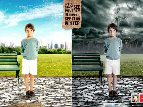 Fundacion Don Bosco Print Ad -  Kid