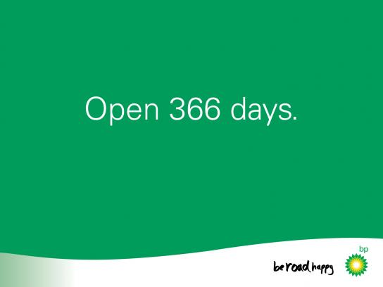BP Print Ad -  Leap Year