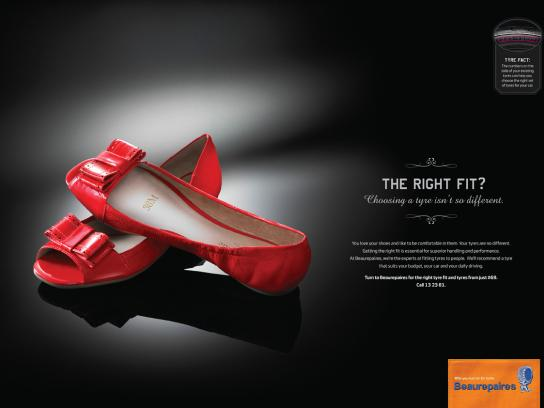Beaurepaires Print Ad -  Tyres are your car's shoes, 3
