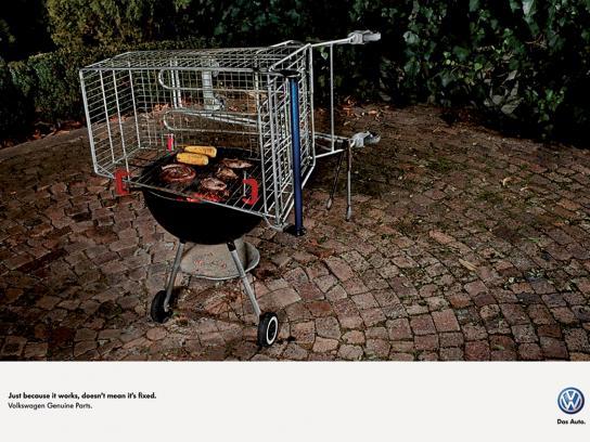 Volkswagen Print Ad -  Braai