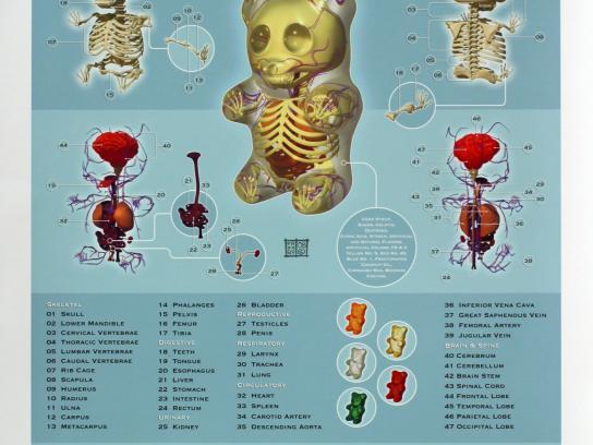 Brainobrain Print Ad -  Gummi bear