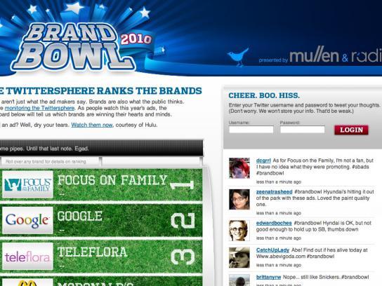 Mullen Digital Ad -  BrandBowl2010