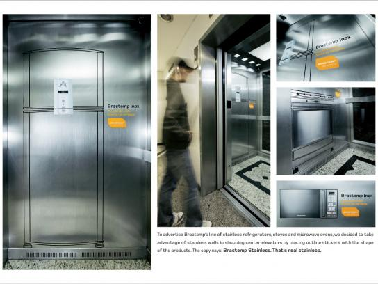 Brastemp Ambient Ad -  Stainless