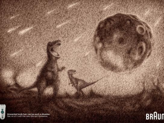 Braun Print Ad -  Chixulub Meteor