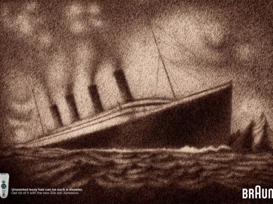 Braun Print Ad -  Titanic