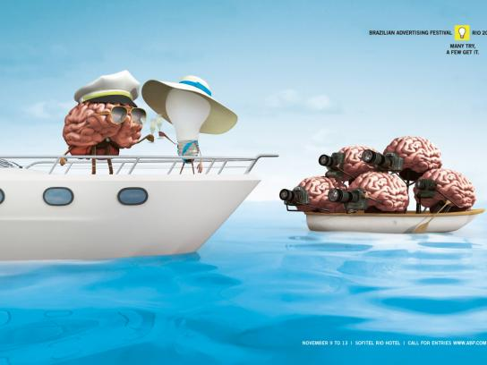 Brazilian Advertising Festival Print Ad -  Boat