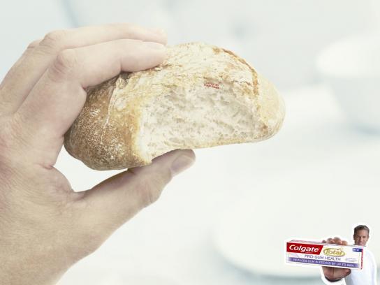 Colgate Print Ad -  Bread
