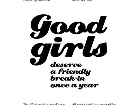 National Cancer Society Print Ad -  Break-in