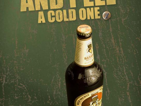 Brew Corner Print Ad -  Banana