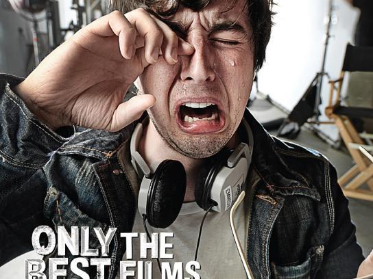 Calgary International Film Festival Print Ad -  Brian