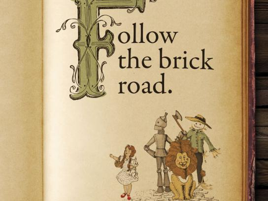 Expertwhitening Print Ad -  Brick Road