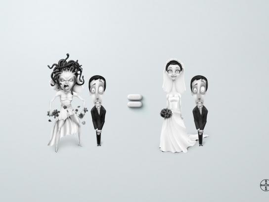 Aspirin Print Ad -  Bride
