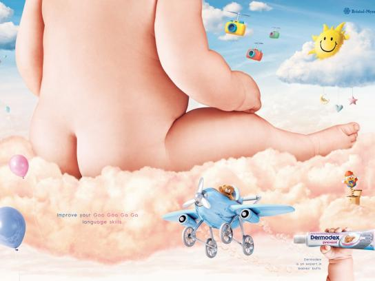 Dermodex Print Ad -  Expert in babies' butts, 2