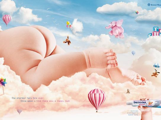 Dermodex Print Ad -  Expert in babies' butts, 3