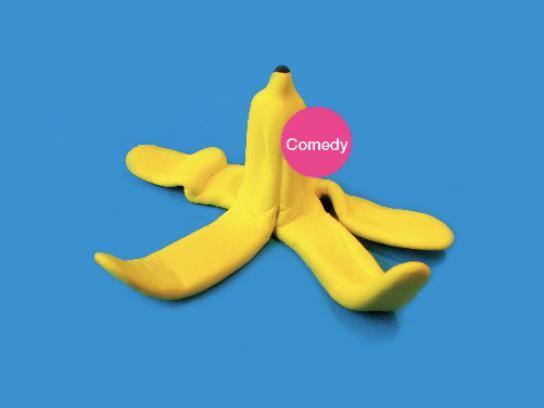 Britannia Print Ad -  Comedy