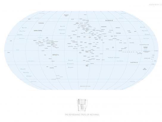 Brita Print Ad -  Map