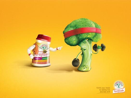 Refisal Print Ad -  Broccoli