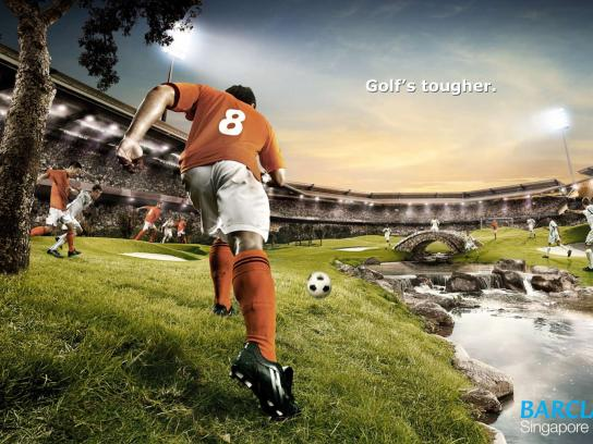 Barclays Print Ad -  Soccer