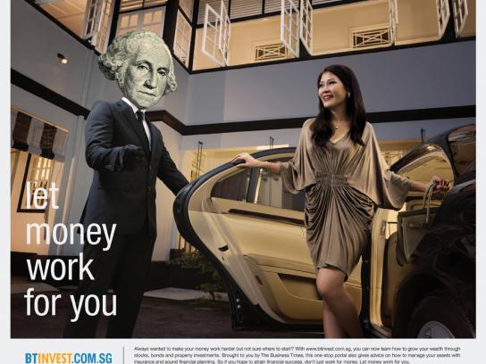 Btinvest.com.sg Print Ad -  Chauffeur