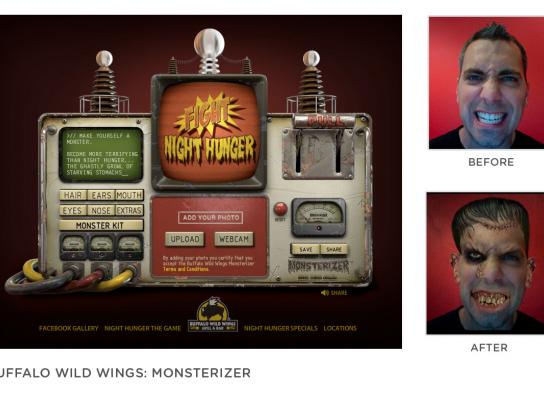 Buffalo Wild Wings Digital Ad -  Monsterizer