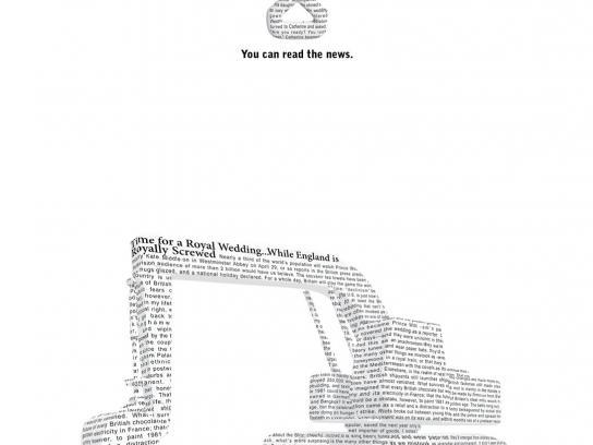 Newsweek Print Ad -  Bulldozer