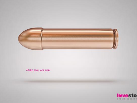 Lovestore Print Ad -  Bullet