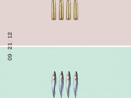 Recipeace Print Ad -  Bullet