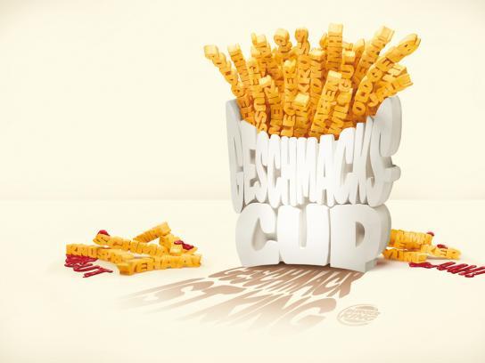 Burger King Print Ad -  Fries