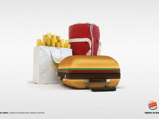 Burger King Print Ad -  Bags
