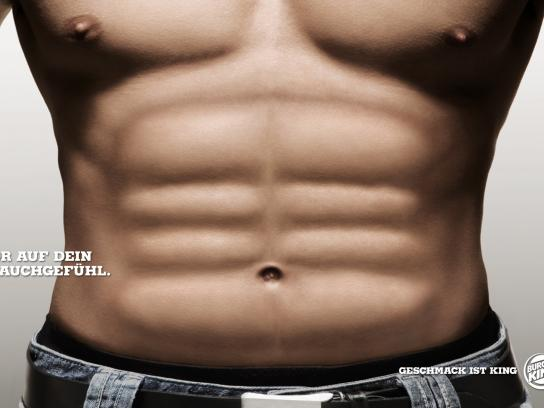 Burger King Print Ad -  Abs