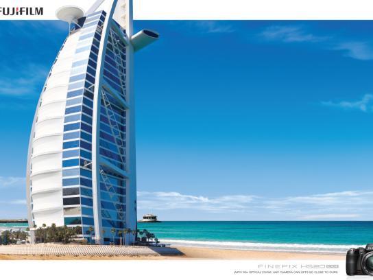 Fuji Print Ad -  Burj Al Arab