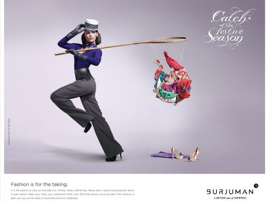 Burjuman Print Ad -  Catch of the Season, 1