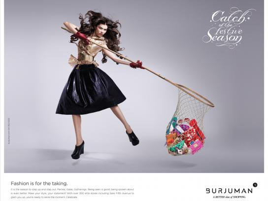 Burjuman Print Ad -  Catch of the Season, 2