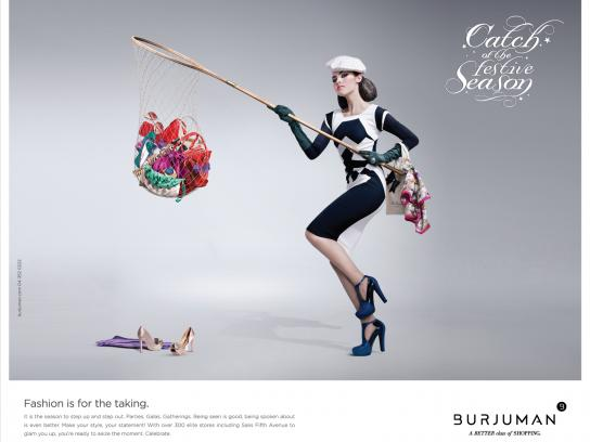 Burjuman Print Ad -  Catch of the Season, 3