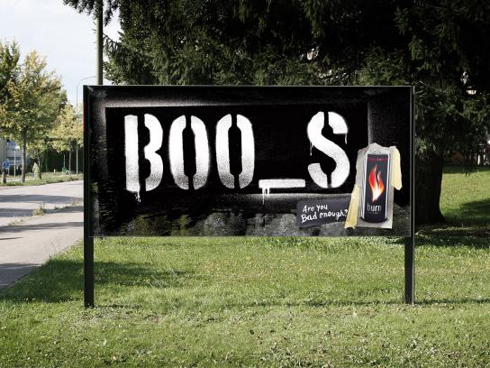 Burn Outdoor Ad -  Books