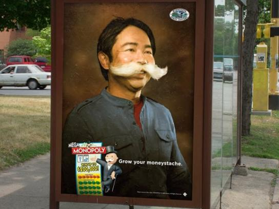Minnesota State Lottery Outdoor Ad -  Guy