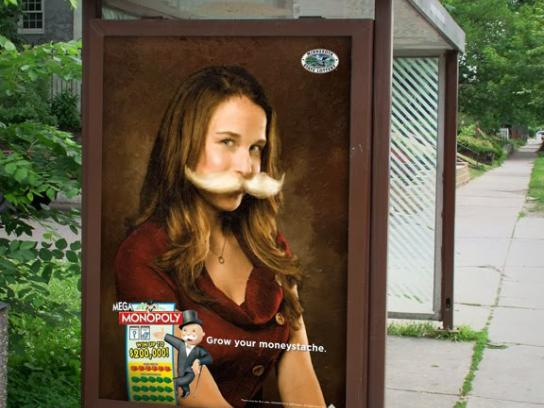 Minnesota State Lottery Outdoor Ad -  Woman
