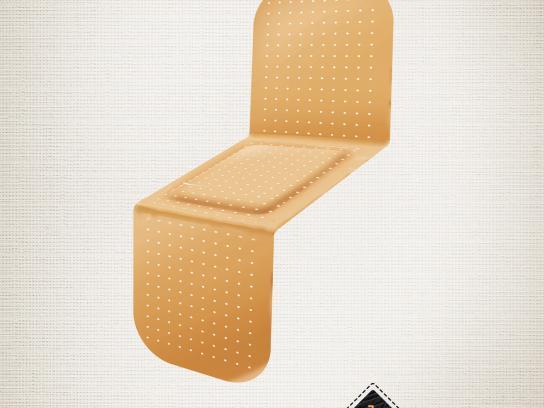Obnova Print Ad -  Band Aid