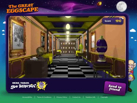 Cadbury Digital Ad -  The Great Eggscape
